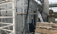 ALC外壁工事